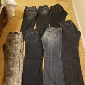 Bundle Of brand name jeans